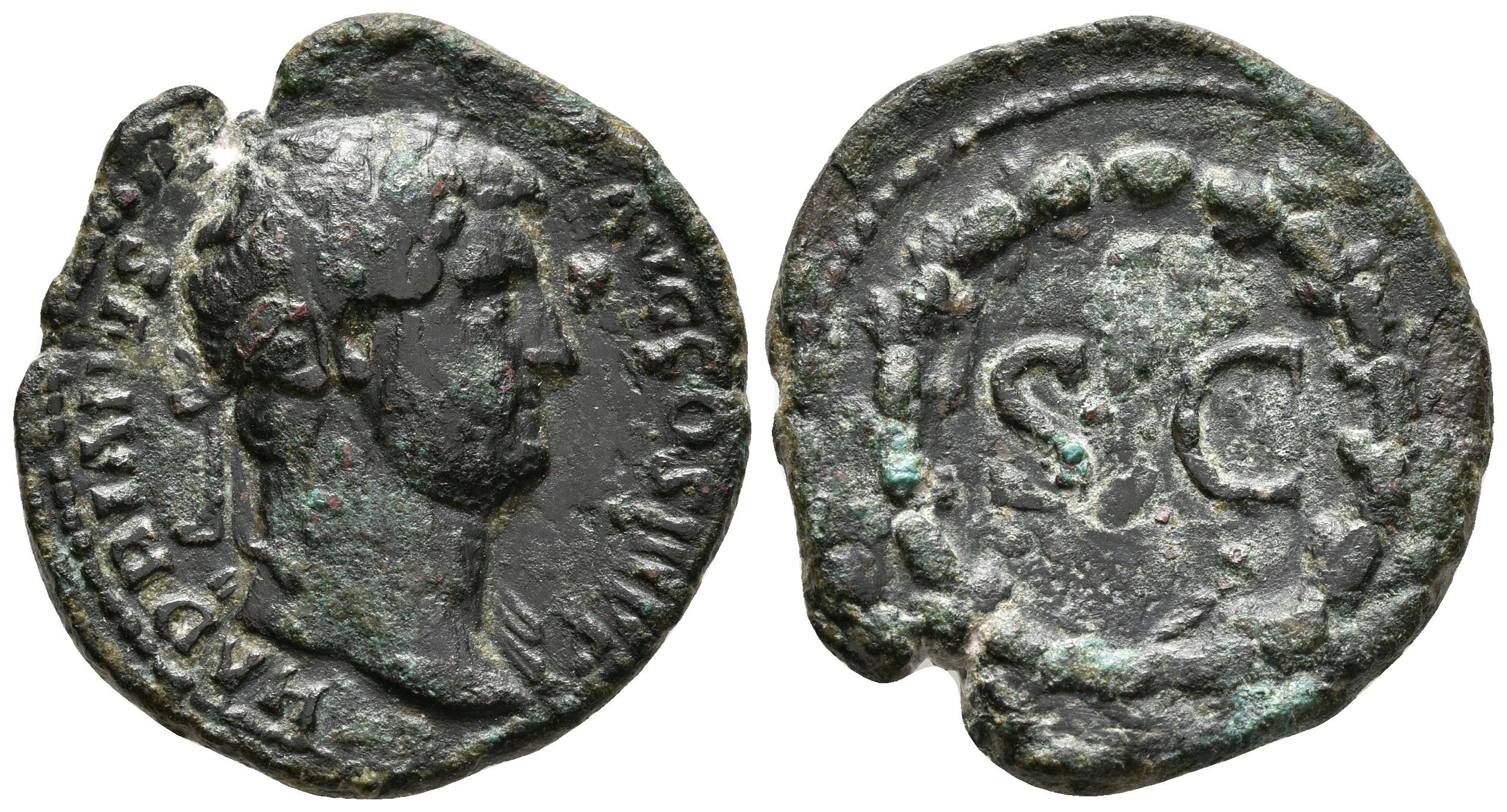 ADRIANO. As. 134-138 d.C. Roma. A/ ...