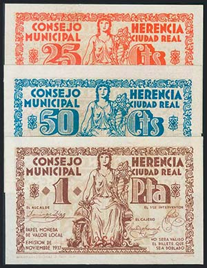 HERENCIA (CIUDAD-REAL). Serie ...
